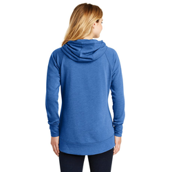 LNEA510 New Era® Ladies Tri-Blend Fleece Pullover Hoodie