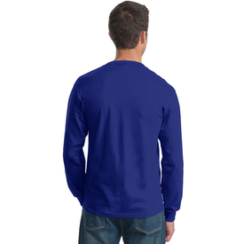 4930 Fruit of the Loom® HD Cotton™ 100% Cotton Long Sleeve T-Shirt (1367342121002)