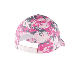 C926 Port Authority® Colorblock Digital Ripstop Camouflage Cap (1872865525802)