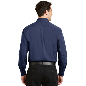 S613 Port Authority® Tonal Pattern Easy Care Shirt (1570312486954)