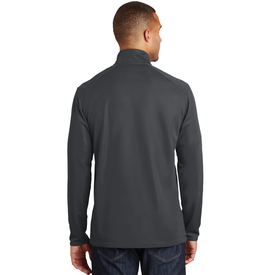 K806 Port Authority® Pinpoint Mesh 1/2-Zip (1583869886506)