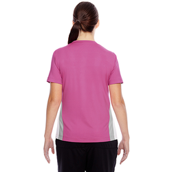 TT10W Team 365 Ladies' Short-Sleeve Athletic V-Neck Tournament Jersey