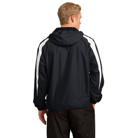 JST81 Sport-Tek® Fleece-Lined Colorblock Jacket (1543350288426)