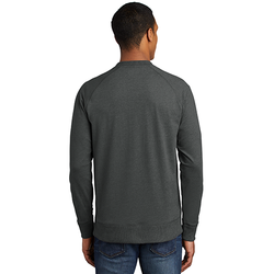 NEA123 New Era ® Sueded Cotton Blend 1/4-Zip Pullover