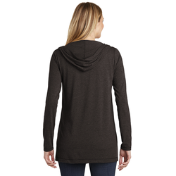 DT156 District ® Women's Perfect Tri ® Hooded Cardigan