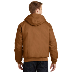J763H CornerStone® - Duck Cloth Hooded Work Jacket