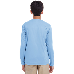 8622Y UltraClub Youth Cool & Dry Performance Long-Sleeve Top