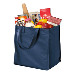 B160 Port Authority® - Extra-Wide Polypropylene Grocery Tote
