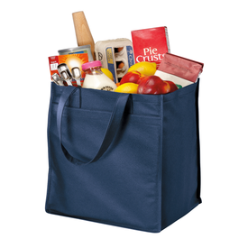 B160 Port Authority® - Extra-Wide Polypropylene Grocery Tote (1474013462570)