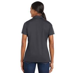 LST653 Sport-Tek® Ladies Micropique Sport-Wick® Piped Polo