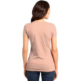 DT6001 District® Women's Fitted Very Important Tee ® (1365535785002)