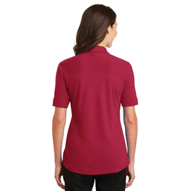 L5200 Port Authority® Ladies Silk Touch™ Interlock Performance Polo (1379374497834)