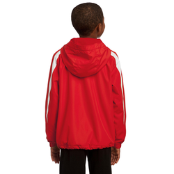 YST81 Sport-Tek® Youth Fleece-Lined Colorblock Jacket