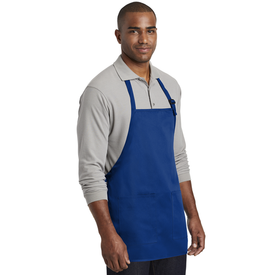 A601 Port Authority ® Medium-Length Two-Pocket Bib Apron (1878553985066)