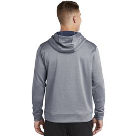 ST264 Sport-Tek ® PosiCharge ® Sport-Wick ® Heather Fleece Hooded Pullover (1869417283626)