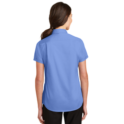 L664 Port Authority® Ladies Short Sleeve SuperPro™ Twill Shirt