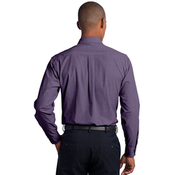 TLS640 Port Authority® Tall Crosshatch Easy Care Shirt