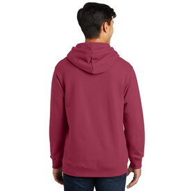 PC850H Port & Company® Fan Favorite™ Fleece Pullover Hooded Sweatshirt (1402200391722)