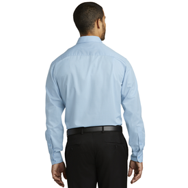 W643 Port Authority® Micro Tattersall Easy Care Shirt (1570284601386)