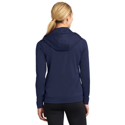 LST238 Sport-Tek® Ladies Sport-Wick® Fleece Full-Zip Hooded Jacket