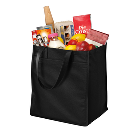 B159 Port Authority® Standard Polypropylene Grocery Tote (1474034401322)