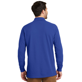 K8000LS Port Authority® EZCotton™ Long Sleeve Polo (1378805350442)