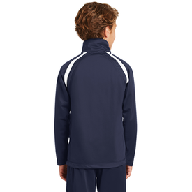 YST90 Sport-Tek® Youth Tricot Track Jacket (1571090661418)