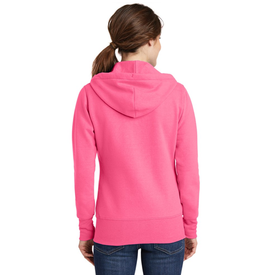 LPC78ZH Port & Company® Ladies Core Fleece Full-Zip Hooded Sweatshirt (1399663493162)