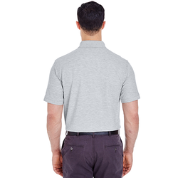 8560 UltraClub Men's Basic Blended Piqué Polo