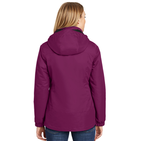 L332 Port Authority® Ladies Vortex Waterproof 3-in-1 Jacket (1540566024234)