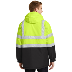 J799S Port Authority® ANSI 107 Class 3 Safety Heavyweight Parka