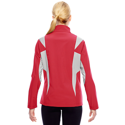 TT82W Team 365 Ladies' Icon Colorblock Soft Shell Jacket
