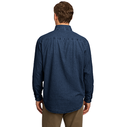 SP10 Port & Company® - Long Sleeve Value Denim Shirt
