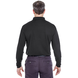 8445LS UltraClub Adult Cool & Dry Long-Sleeve Stain-Release Performance Polo (1782785474602)