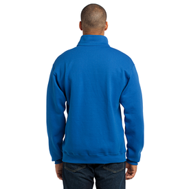 995M JERZEES® - NuBlend® 1/4-Zip Cadet Collar Sweatshirt (1710408564778)