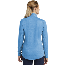 LST407 Sport-Tek ® Ladies PosiCharge ® Tri-Blend Wicking 1/4-Zip Pullover