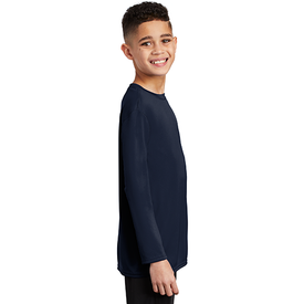 PC380YLS Port & Company ® Youth Long Sleeve Performance Tee (3938680438826)