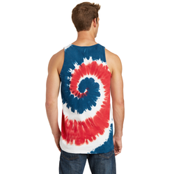 PC147TT Port & Company® Tie-Dye Tank Top