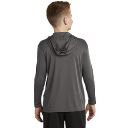 YST358 Sport-Tek ® Youth PosiCharge ® Competitor ™ Hooded Pullover