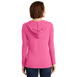 DM139L District ® Women's Perfect Tri ® Long Sleeve Hoodie