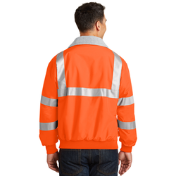 SRJ754 Port Authority® Enhanced Visibility Challenger™ Jacket with Reflective Taping