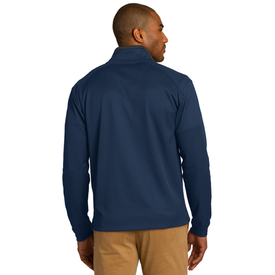 K805 Port Authority® Vertical Texture 1/4-Zip Pullover (1571387539498)