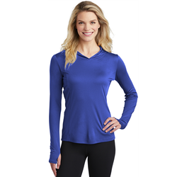 LST358 Sport-Tek ® Ladies PosiCharge ® Competitor ™ Hooded Pullover