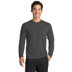 PC381LS Port & Company® Long Sleeve Performance Blend Tee