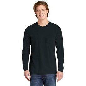 COMFORT COLORS Heavyweight Ring Spun Long Sleeve Pocket Tee. 4410 (4928260898894)