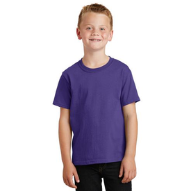 PC54Y Port & Company® - Youth Core Cotton Tee (553556410410)