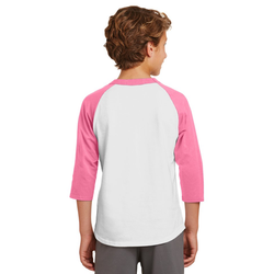 YT200 Sport-Tek® Youth Colorblock Raglan Jersey