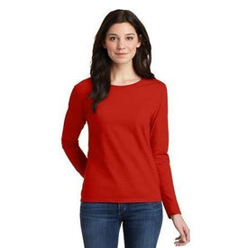 Gildan Ladies Heavy Cotton 100% Cotton Long Sleeve T-Shirt. 5400L (4874901487694)