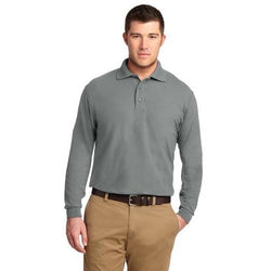 TLK500LS Port Authority® Tall Silk Touch™ Long Sleeve Polo