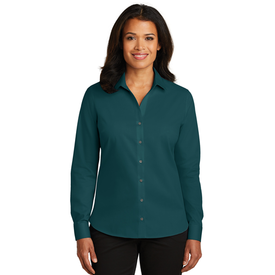 RH79 Red House® Ladies Non-Iron Twill Shirt (1563192164394)